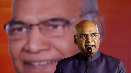 'Fake news is a menace': India's president urges journalists to pursue truth over ratings at annual RNG press awards