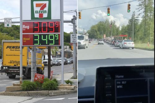 Gas stations along Southeast Coast suffer fuel shortage amid pipeline shutdown