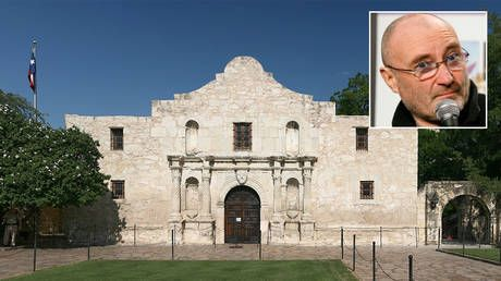 Phil Collins drawn into race controversy after 'Battle of the Alamo' museum criticized for ignoring non-white fighters - reports