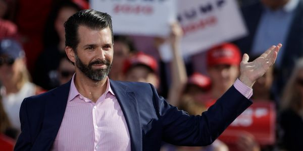 Donald Trump Jr. is writing a book - and Twitter is having a blast predicting the titles