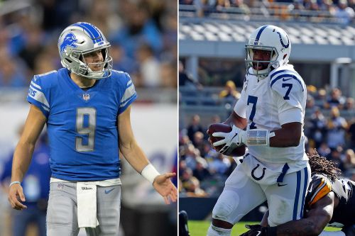 NFL pre-game injury report for Week 11: Matthew Stafford out, Jacoby Brissett in