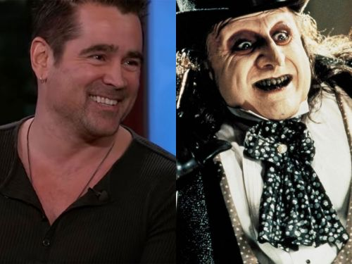 Colin Farrell will play an iconic villain in 'The Batman' movie and says the script is 'really beautiful, dark, moving'
