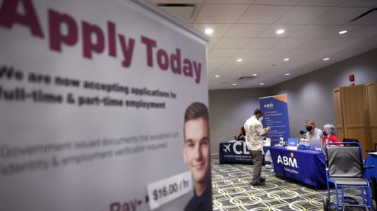 Hiring Picked Up Last Month, A Relief For An Economy Desperate For Workers