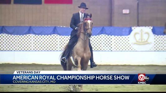 American Royal Championship Horse Show held in KCMO