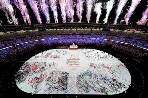 Photos: The Olympics have opened with pomp despite circumstance