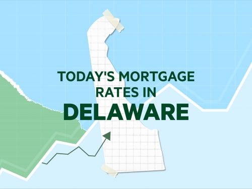 Today's mortgage and refinance rates in Delaware