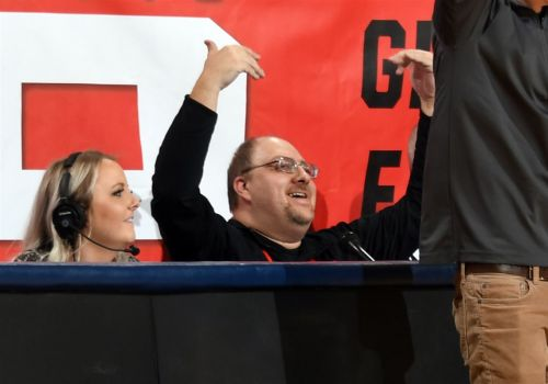 'A booming voice, but a bigger heart': Duquesne public address announcer Dom Errico dies at 42