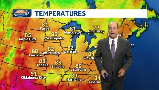 Update: More hot weather ahead