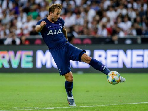 Tottenham Hotspur's Harry Kane scored an outrageous goal from the halfway line to beat Cristiano Ronaldo's Juventus at the last minute