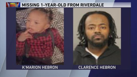 Amber Alert issued after double homicide, abduction of 1-year-old boy in Riverdale