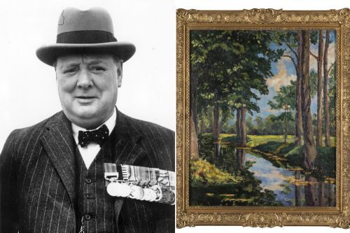 Oil painting by Winston Churchill set to sell for $2 million