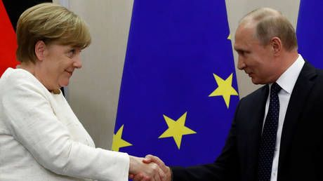 UK media runs scare story on Russia & Germany teaming up to conquer Europe. based on YouTube video & 23-year-old book
