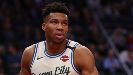 Social media got a kick out of Giannis Antetokounmpo's head-butt of Wizards player