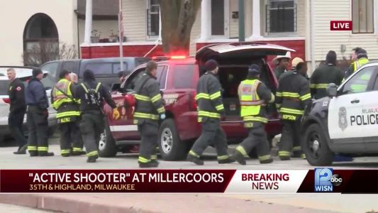 Sources: At least 2 dead in shooting at MillerCoors building in Wisconsin
