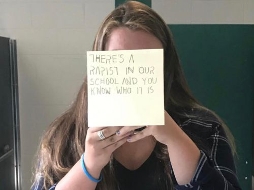 A 15-year-old tried to raise awareness about sexual assault at her school. The school responded by suspending her for 'bullying'