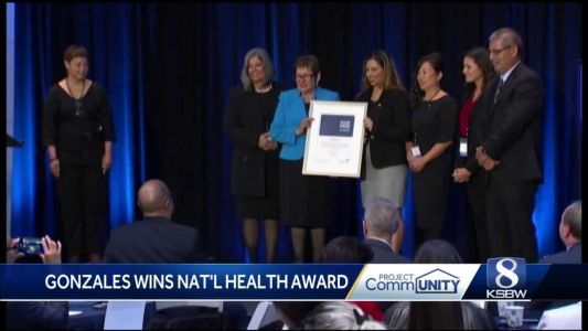 Gonzales given top national health award