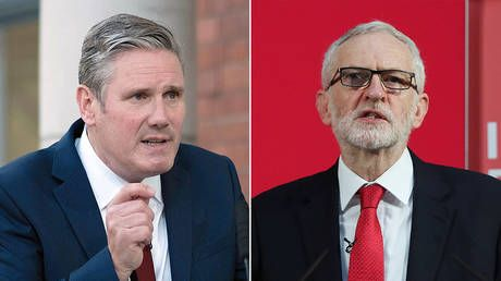 'No reason for civil war': Keir Starmer urges Labour unity after suspending Jeremy Corbyn over response to anti-Semitism report