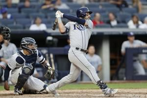Rays place CF Kevin Kiermaier on IL with thumb injury