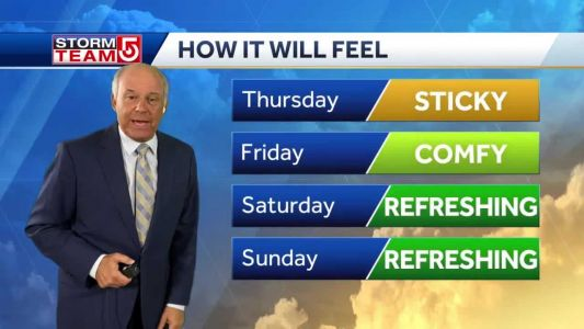 Video: Relief on the way after 4-day heat wave