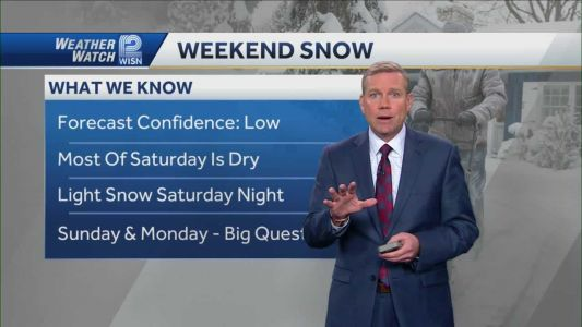 Weather: Windy First, Snowy Weekend