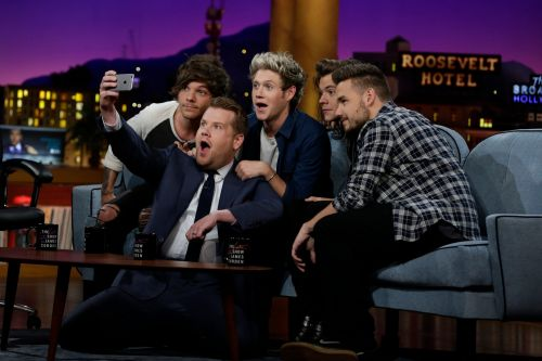 One Direction fans slam James Corden after band video is teased, deleted