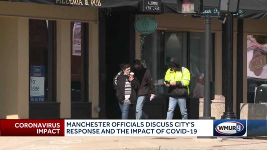Manchester health officials optimistic as COVID-19 cases trend down