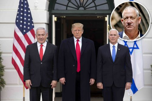 What's really behind Trump's meeting with Bibi and Gantz