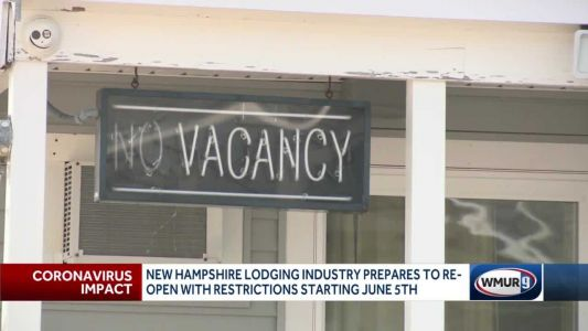 NH lodging industry prepares to reopen with restrictions
