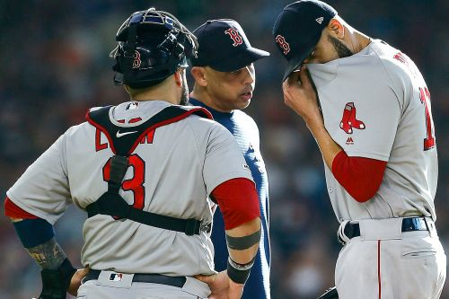 David Price forced to exit Red Sox game after just 3 batters