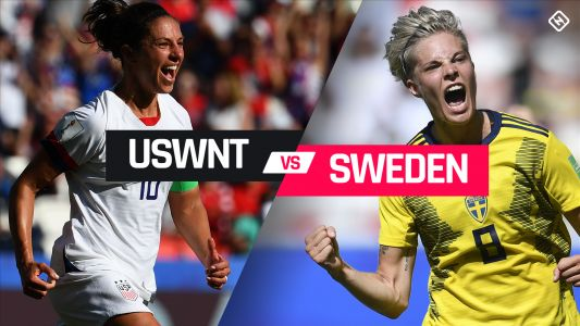 What channel is USWNT on today? Time, TV schedule for USA vs. Sweden in 2019 World Cup