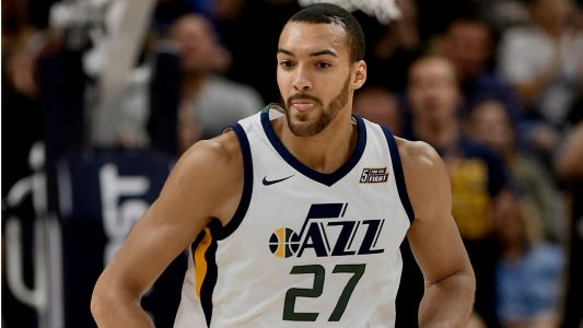 Jazz center Rudy Gobert sets NBA single-season dunk record
