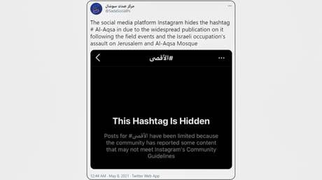 Instagram & Twitter apologize for 'system errors' that deleted pro-Palestine posts, but critics say they are still 'censoring'