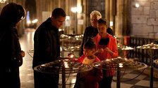 Obamas Issue Tributes After Notre Dame Fire, Say Cathedral 'Will Soon Awe Us Again'