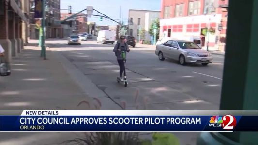 Orlando City Council approves scooter pilot program