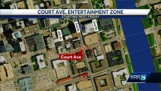 Downtown DSM to block off streets for entertainment district
