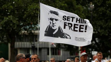 Tommy Robinson slapped with stalking order after appearing froth-mouthed at journalist's home