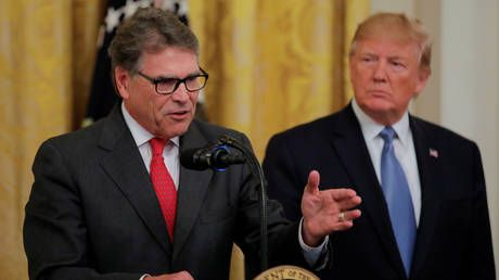 Trump confirms Perry leaving Energy, nominates successor