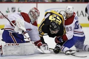 Canadiens end Jarry's shutout streak, race past Penguins 4-1