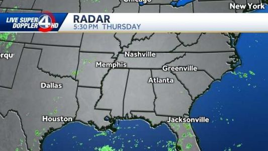 Tropical system could impact weekend