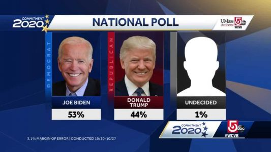 Trump carries white working class vote, trails Biden in national poll from UMass Amherst