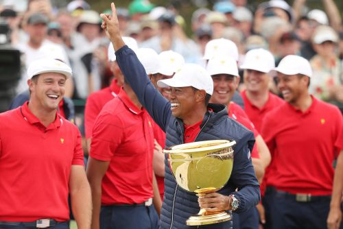 Tiger Woods gave US everything it needed for rally to Presidents Cup