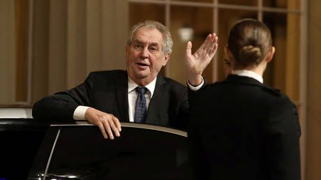 Czech lawmakers move to strip ailing President Zeman of power amid constitutional crisis; universal fury batters chief-of-staff