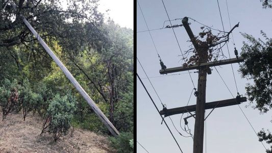 PG&E says system had 100 incidents of damage due to wind