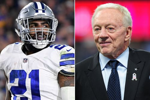 Cowboys' Ezekiel Elliott angry at Jerry Jones over 'Zeke who?' quip