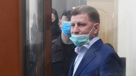A spanner in the works? Former Khabarovsk governor Furgal can't be charged with murder-for-hire as he was already cleared in 2004