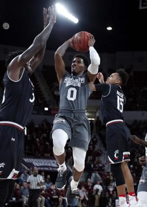 No. 18 Mississippi State beats Cincinnati 70-59