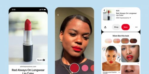 Pinterest expands lipstick Try on feature to over 10,000 shoppable shades