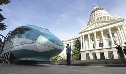 California bullet train's latest woe: Will it be high speed?