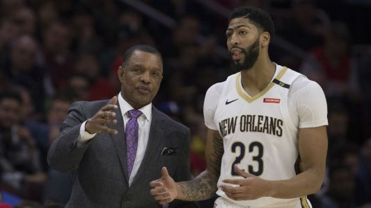 Anthony Davis situation a 'dumpster fire' for Pelicans, says Alvin Gentry