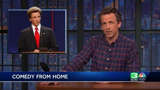 'Late Night' host Seth Meyers on working from home during pandemic